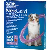 NexGard Spectra 6-Pack for Dogs 15.1-30KG