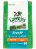 Greenies FRESH MINT Treat-Pak Petite (7 - 11 kg) 340g (20 daily treats)