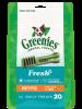 Greenies FRESH MINT Treat-Pak Petite (7 - 11 kg) 340g (20 daily treats)